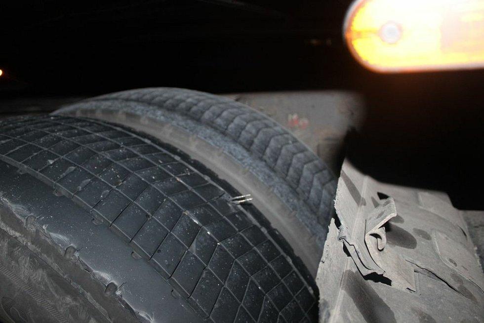 V noci z neděle na pondělí se stala na D46 hromadná nehoda. 22.6.2020