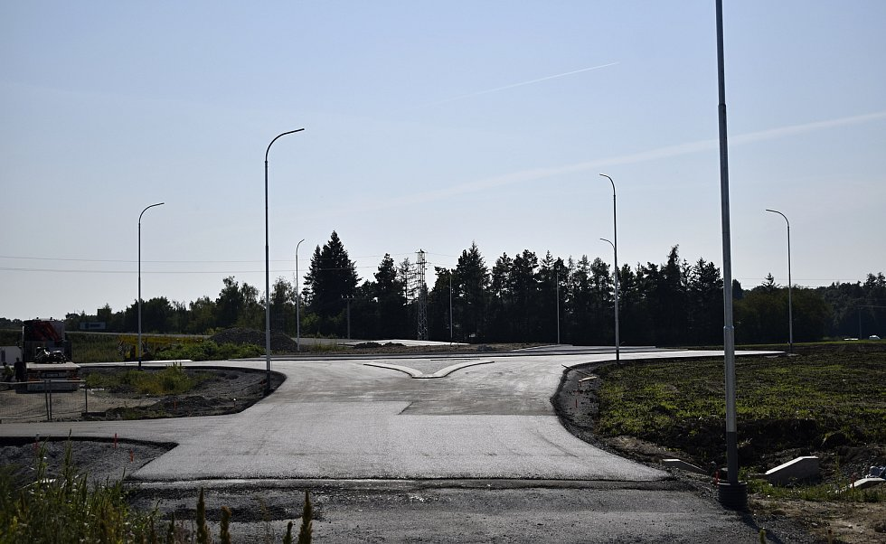 Stavba severního obchvatu Prostějova - 14. 9. 2020