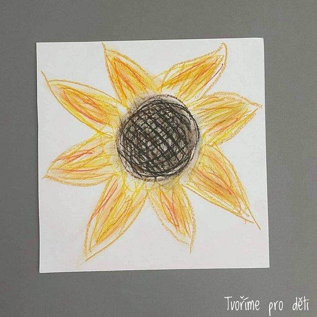 Tvoření sdětmi - Slunečnice