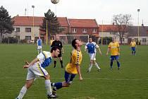 Určice v modrobílém proti Litovli