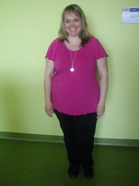 Pět účastnic redukčního programu, který organizoval Prostějovský deník ve spolupráci sAgel Sport Clinic, má za sebou téměř tři měsíce hubnutí - Lenka Prokopová