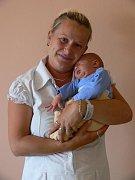 Martin Hajdučko s maminkou Pavlou, Němčice nad Hanou, narozen 12. července, 50 cm, 3400 g