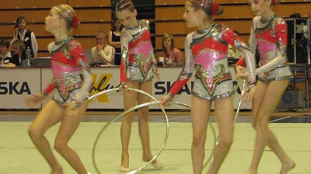 Do Prostějova přijeli gymnastické naděje z celé republiky.