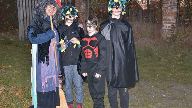 Halloween ve Ptení