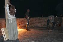 Noční prohlídka na plumlovském zámku