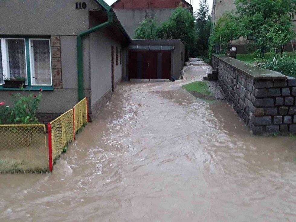 Následky silných bouřek na Konicku, 1. 7. 2019