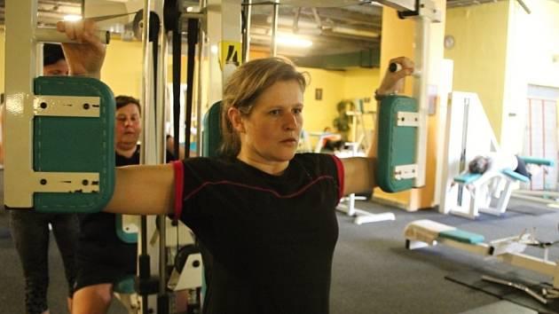 Marcela Texlová - účastnice redukčního programu, který organizuje Prostějovský deník ve spolupráci s Agel Sport Clinic