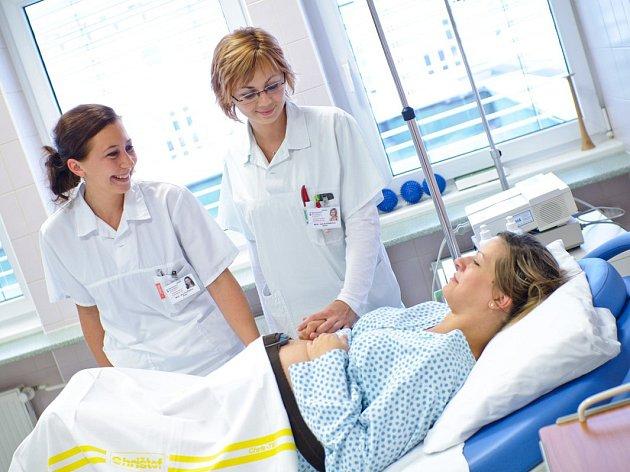 Gynekologicko-porodnické oddělení prostějovské nemocnice připravilo pro budoucí i současné maminky den otevřených dveří.