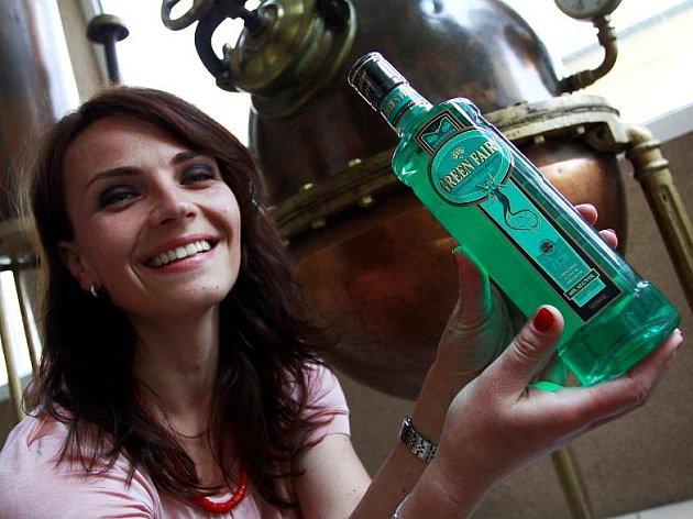 Prostějovský absinth Green Fairy