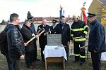 Zahájení stavby nové hasičské zbrojnice v Kostelci na Hané