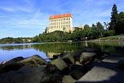 Podhradský rybník v Plumlově - 10. září 2012