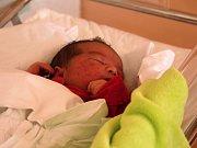 Eliška Bezdomniková, Prostějov, narozena 28. ledna, 50 cm, 3950 g