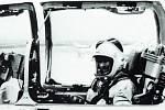 """Tragická havárie MIGu-21U u Bukové na Prostějovsku 14. 10. 1988 - Mjr. Attila Szabó v zadní kabině MiGu-21U /M. Irra """"MiG-21 Letoun v čs a českém vojenském letectvu v letech 1962-2005"""""""
