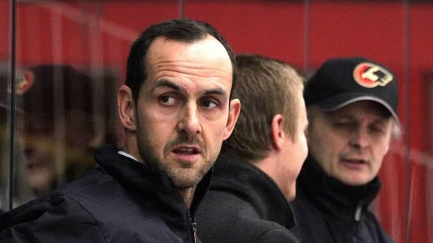 Asistent trenéra Jiří Vykoukal