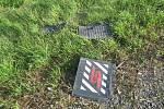 Nehoda na dálničním sjezdu v Prostějově