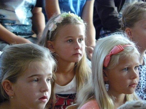 První školní den na ZŠ vČechách pod Kosířem