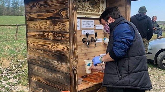 Pivní bar uPtenského Dvorku - velikonoční víkend 2020