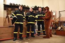 Kelčičtí dobrovolní hasiči nezahálí, chystají se na dvě velké soutěže a navrátili po 60 letech do obce masopust