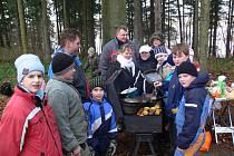 Zlatá vařečka v Drahanech 2011