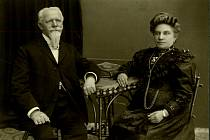 Jan a Kateřina Habustovi (foto Kamil Rodan).