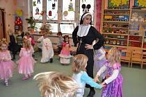 Dětský karneval v mateřince Moravská