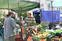 Léto na prostějovské tržnici