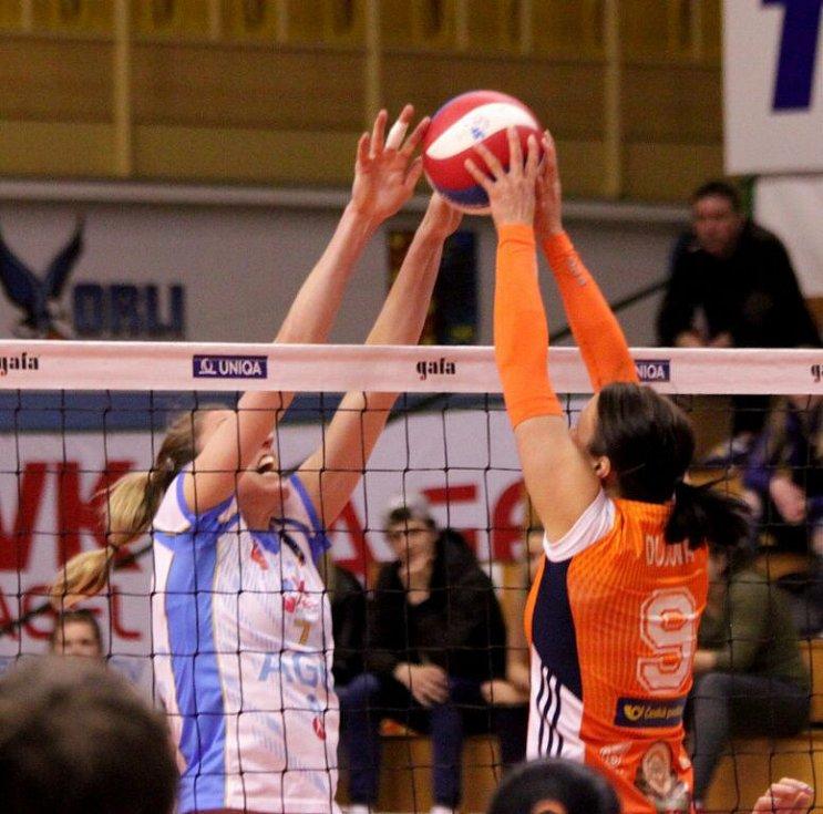 Prostějovské volejbalistky ve druhém finále proti Olomouci