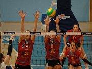 Extraliga žen, VK Prostějov - KP Brno 3:0