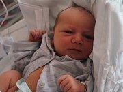 Štěpán Tejkal, Ptení, narozen 18. května v Prostějově, míra 49 cm, váha 3400 g