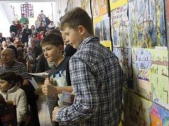 Vernisáž výstavy a vyhlášení soutěže Škola snů na Základní umělecké škole Prostějov