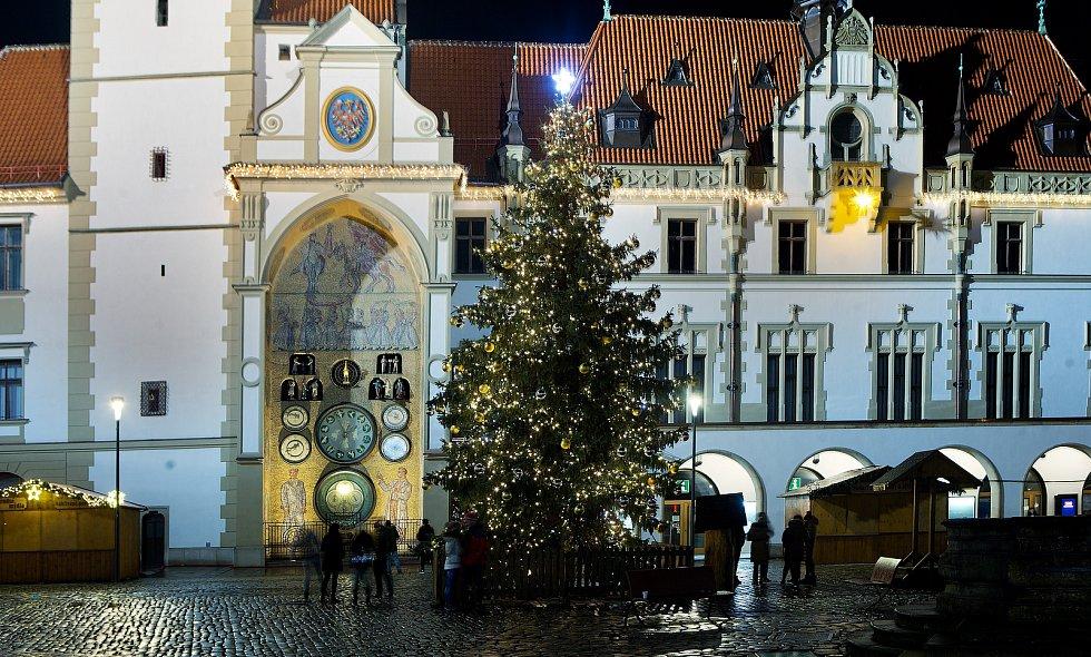 Vánoční strom 2020 v Olomouci