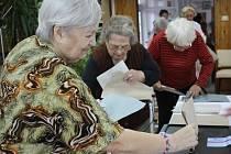 Volby v prostějovském domově důchodců na Nerudově ulici