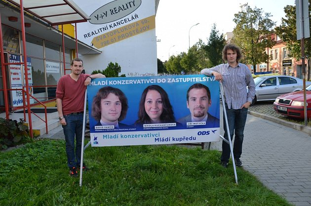 David Vančík - mladý politik zProstějova a muž mnoha zájmů