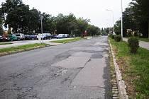 Ulice E. Valenty v Prostějově