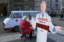 MUDr.ncák na náměstí T. G. M. v Prostějově