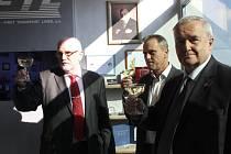 Otevření historické místnosti FTL