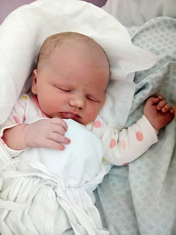 Tereza Semelová, Přerov, narozena 8. července 2021 v Přerově, míra 50 cm, váha 3644 g