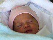 Katie Kršková, Prostějov, narozena 4. května, míra 48 cm, váha 2550 g