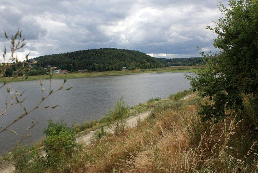 Rekonstrukce hráze plumlovské přehrady - srpen 2013