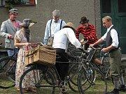 Ze závodů historických kol Tour de Stražisko
