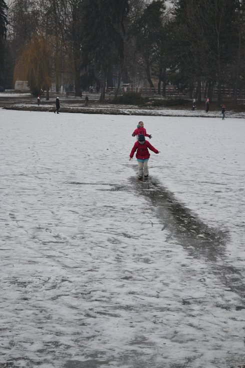 Bruslení na Prostějovsku. Ilustrační fotka z minulých let