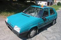 Řidička u Horního Štěpánova usnula za volantem a se svým favoritem srazila dvě chodkyně