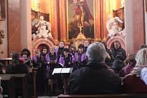 Koncert pěveckého sboru Canticum v kostele sv. Martina v Mořicích