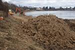 Výstavba cyklostezky podél severního břehu plumlovské přehrady - 18. února 2020