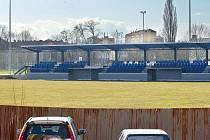 Nově zrekonstruovaný fotbalový stadion na sídlišti E. Beneše v Prostějově