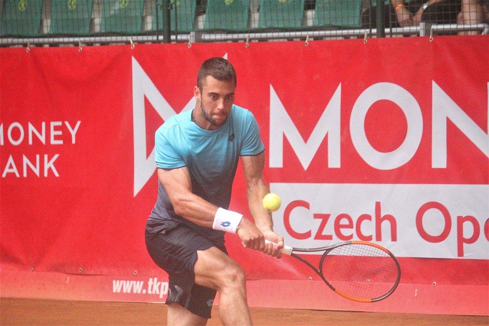 Finále Czech Open v Prostějově. (Laslo Djere)