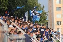 Přeplněný stadion i nečekaný úspěch domácích. A překvapivě klidný průběh. I to bylo obnovené fotbalové derby mezi Prostějovem a Olomoucí.