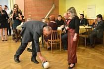 27. ročník fotbalového plesu ve Ptení.