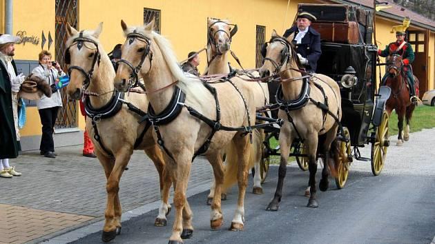 Zahájení sezony v Muzeu kočárů v Čechách pod Kosířem. Ilustrační foto