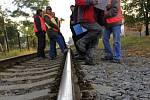 Porada nad vznikem chráněného železničního přejezdu ve Sladkovského ulici
